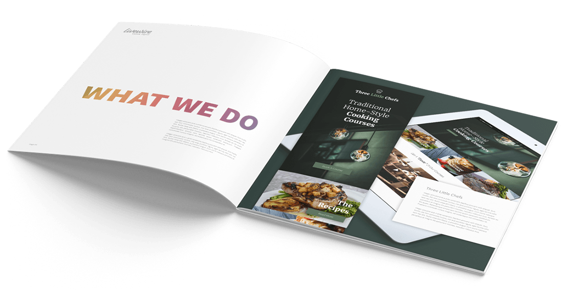 Livewire Digital Brochure